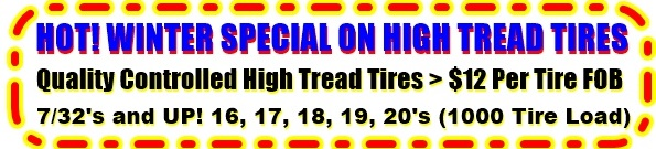 Re-Sell Quality Controlled Used Tires